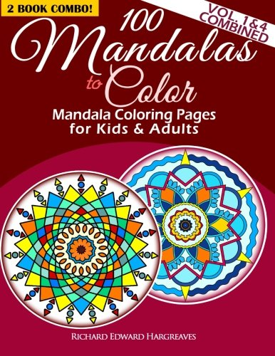 100 mandalas to color mandala coloring - Mandala Coloring Books For Adults