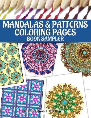 Mandalas & Patterns Coloring Pages Book Sampler