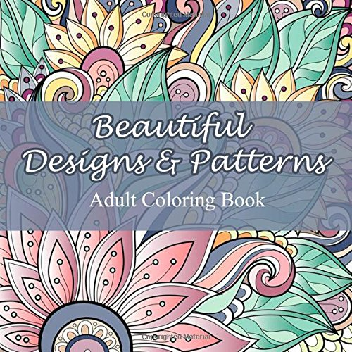 Beautiful Designs And Patterns Adult Coloring Book Sacred Mandala Books For Adults Volume 23 349