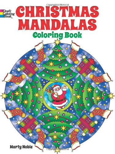 Christmas Mandalas Coloring Book (Dover Design Coloring Books)
