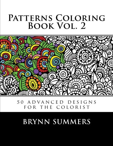 Patterns Coloring Book Vol 2