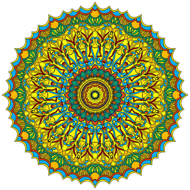 Great Big Book Of Mandala Pattern Coloring Pages For