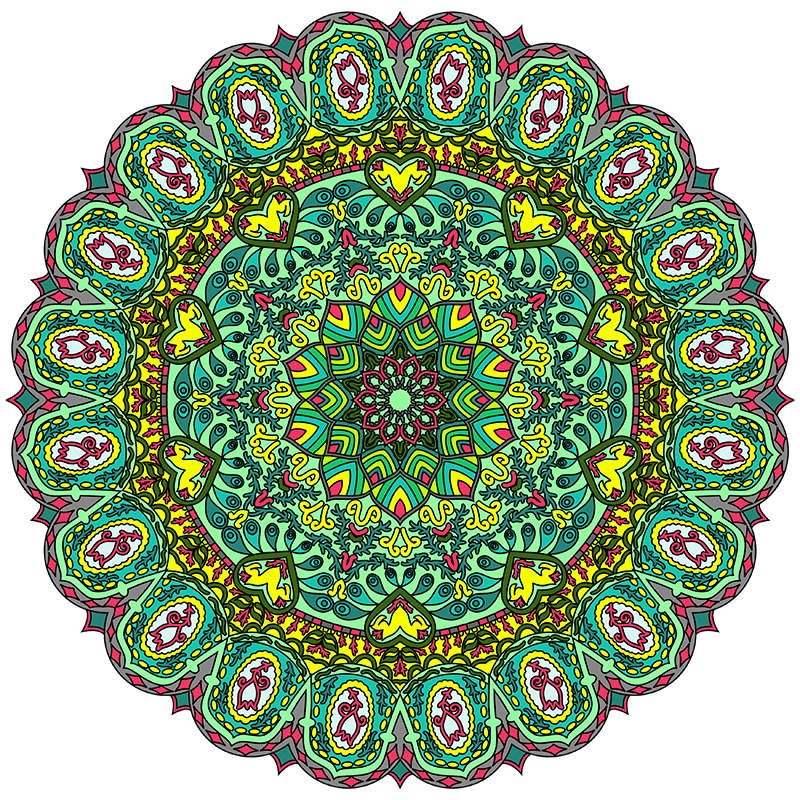 Great Big Book Of Mandala Pattern Coloring Pages For Adults  300 Mand