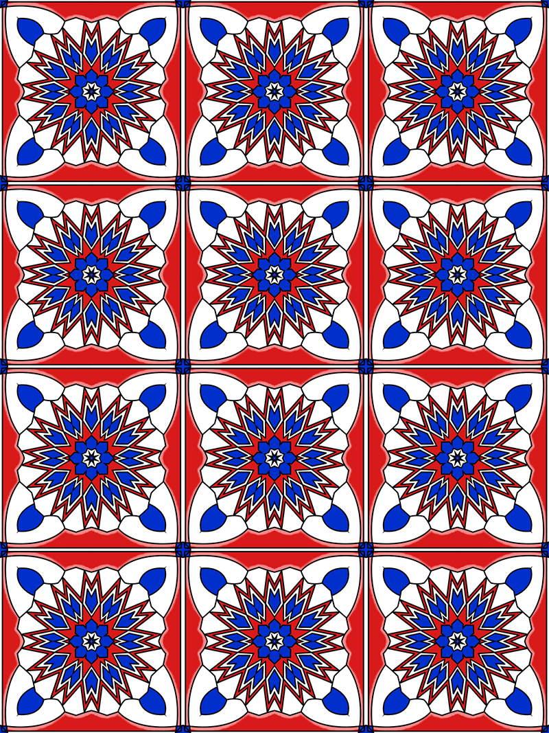 Mandala Pattern Coloring Pages