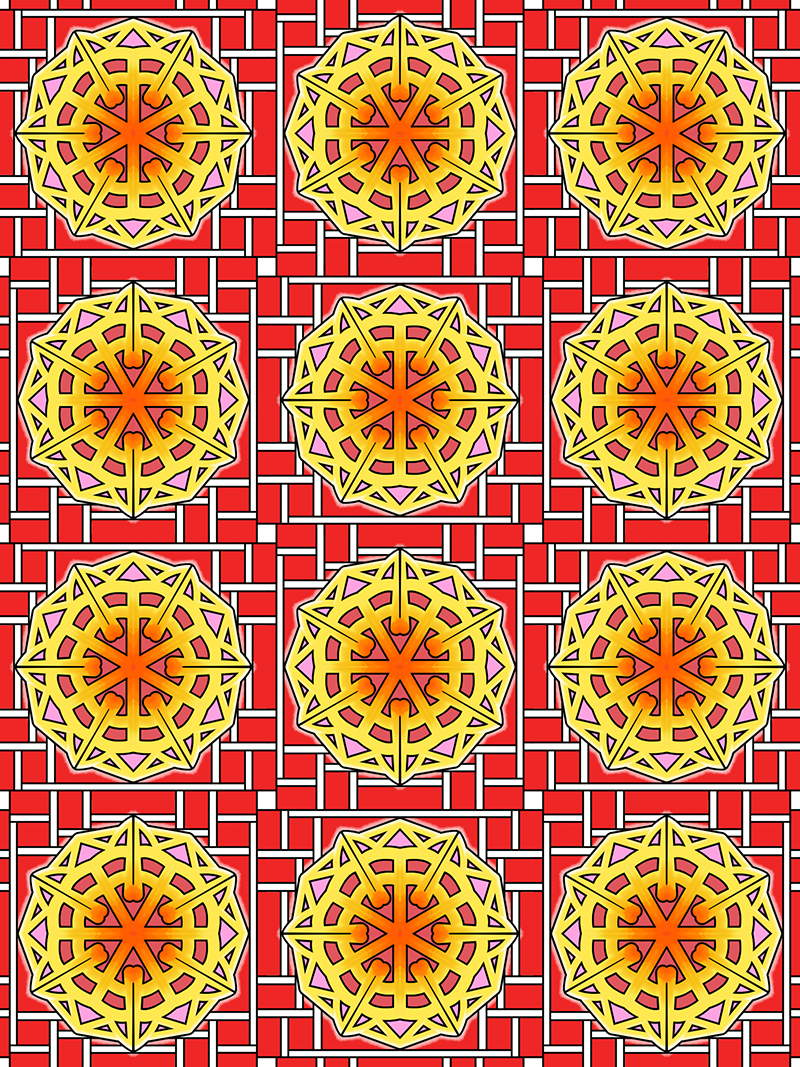The 50 New Elegant And Detailed Mandala Pattern Designs Follow On From Volumes 1 2 Have Been Created By Using Elements Of Mandalas Repeating