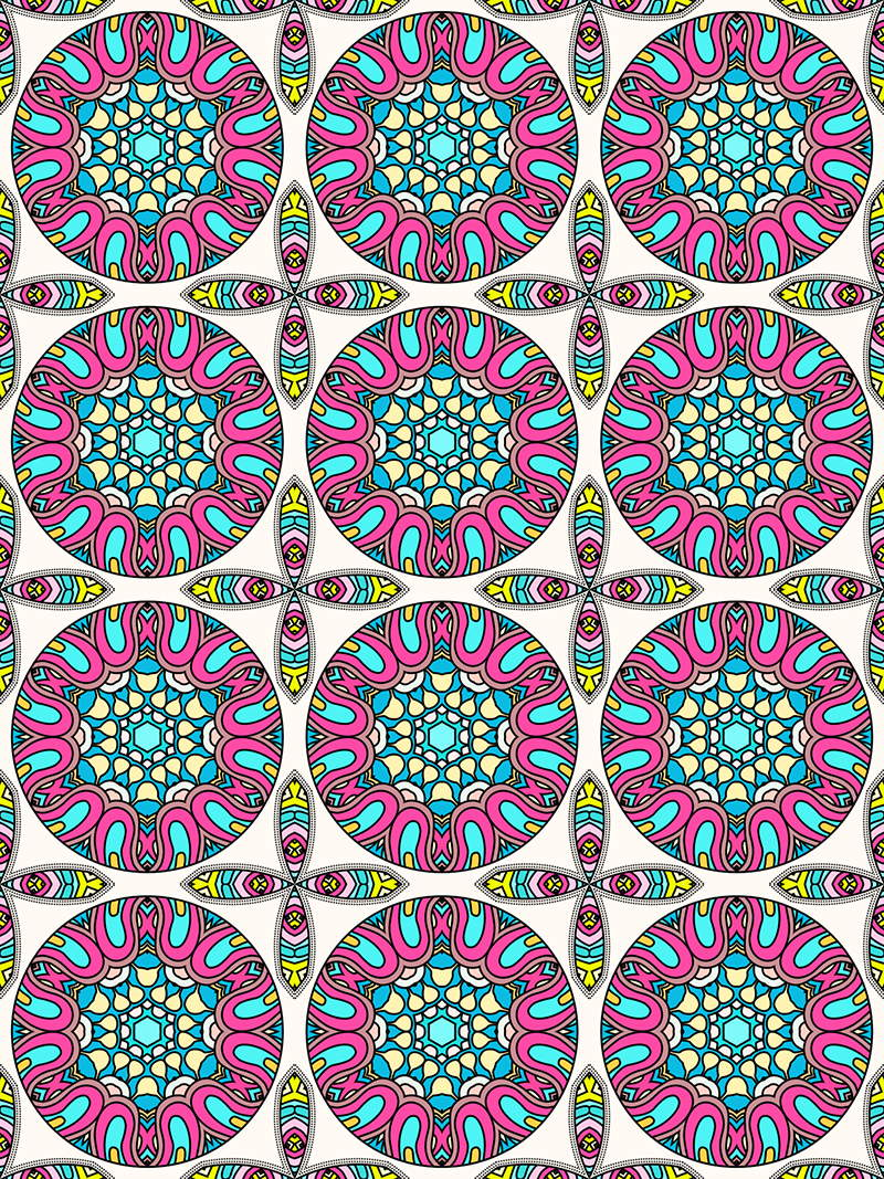 Mandala Pattern Coloring Pages for Adults Mandalas to Color Mandala