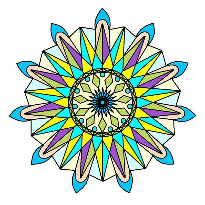 Come On A Fun And Mystical Journey With Our Magical Mandalas Coloring Book 50 Unique Beautiful Mandala Designs For You To Color
