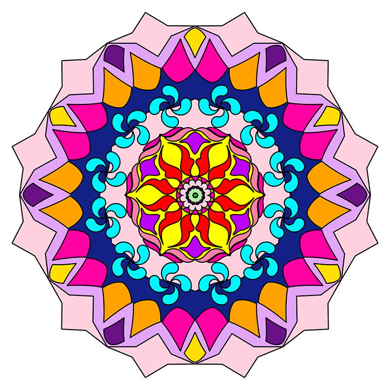 Mandalas To Color Mandala Coloring Pages For Kids Adults Books Volume 4