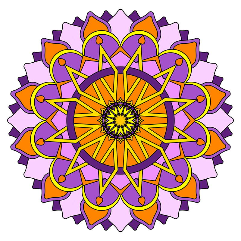Description This Is Volume 4 In The MANDALA COLORING BOOKS Series It Same Level Of Difficulty As 1 Which Fairly Easy And Suitable