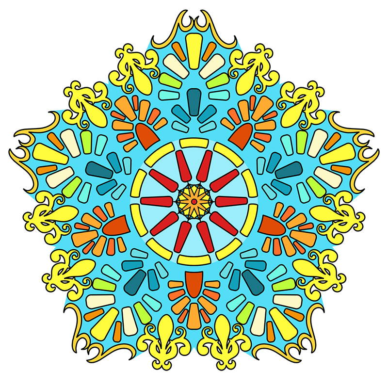 This Is Volume 4 In The MANDALA COLORING BOOKS Series It Same Level Of Difficulty As 1 Which Fairly Easy And Suitable For Both Kids