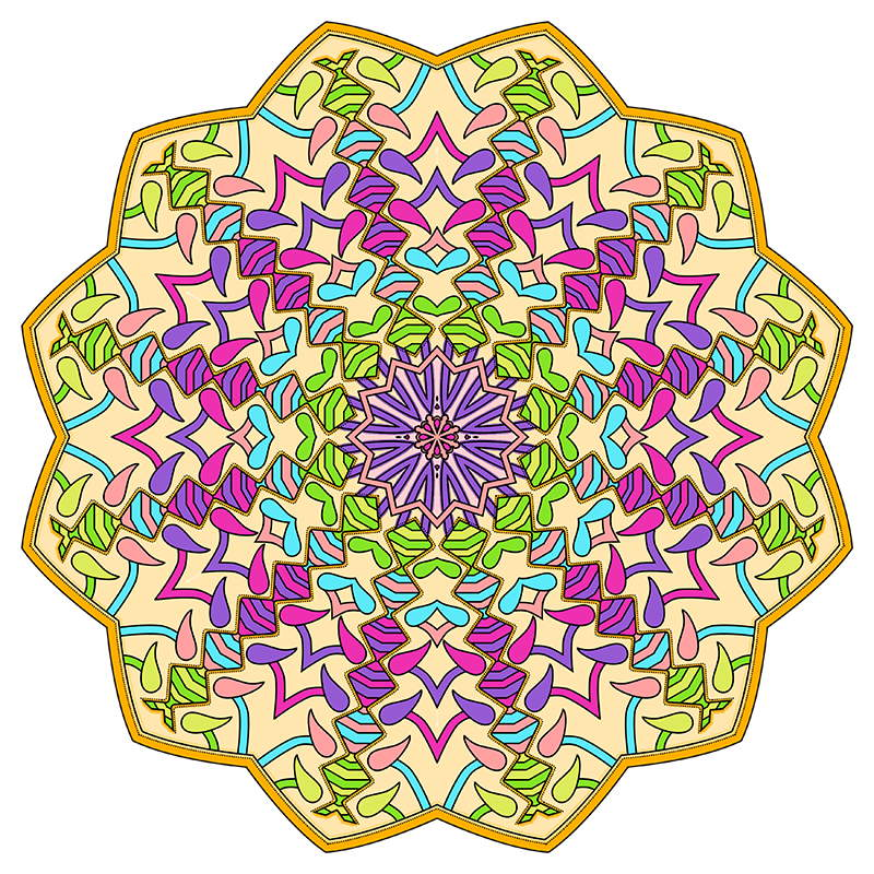 Mandalas to Color – Mandala Coloring Pages for Kids & Adults ...