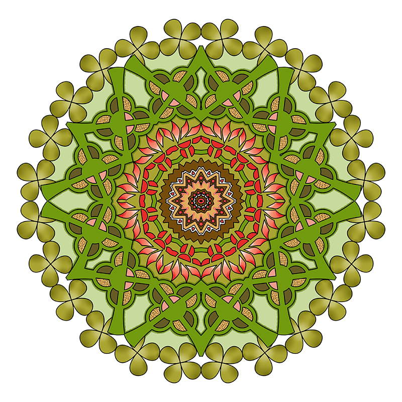 Mandalas To Color Mandala Coloring Pages For Kids Adults Books Volume 7