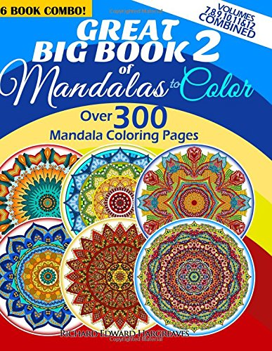 Great Big Book 2 Of Mandalas To Color
