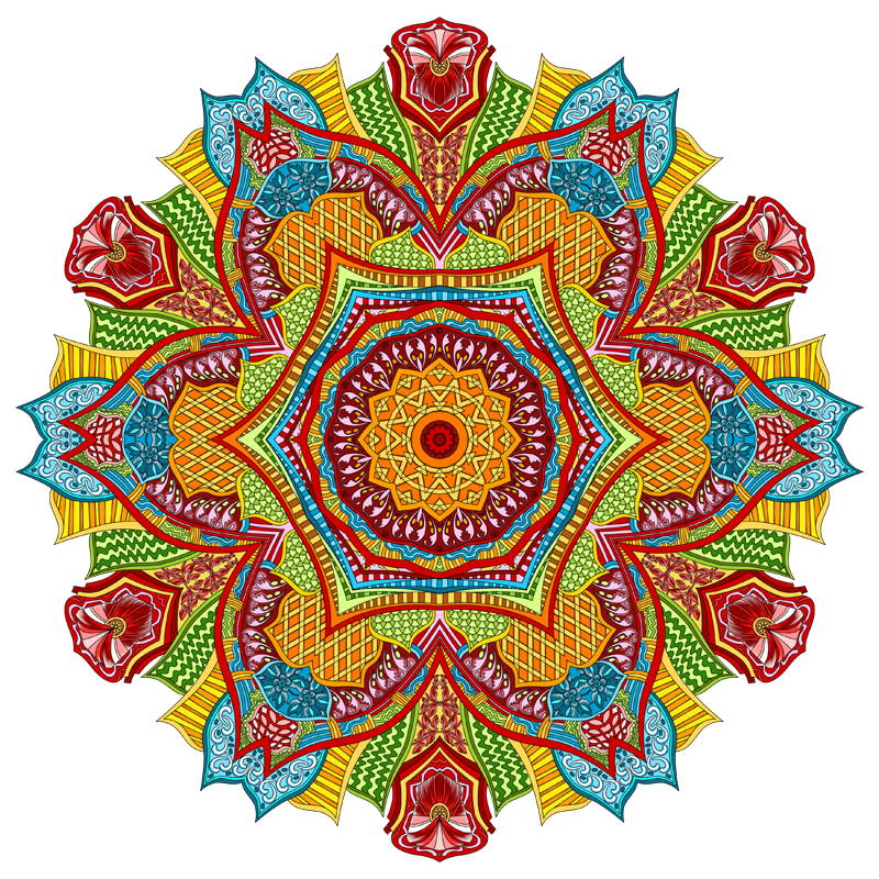 Following On From The Popularity Of Our First Great Big Book This Is Second Mandalas To Color Huge Mandala Coloring A