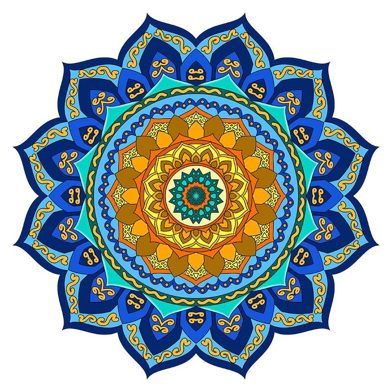Mandala coloring pages sampler volume3 17 mandala Mandala coloring book for adults volume 3