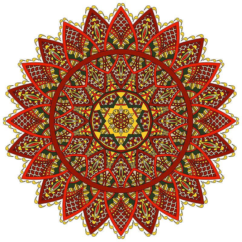 Mandala coloring pages sampler volume3 18 mandala Mandala coloring book for adults volume 3
